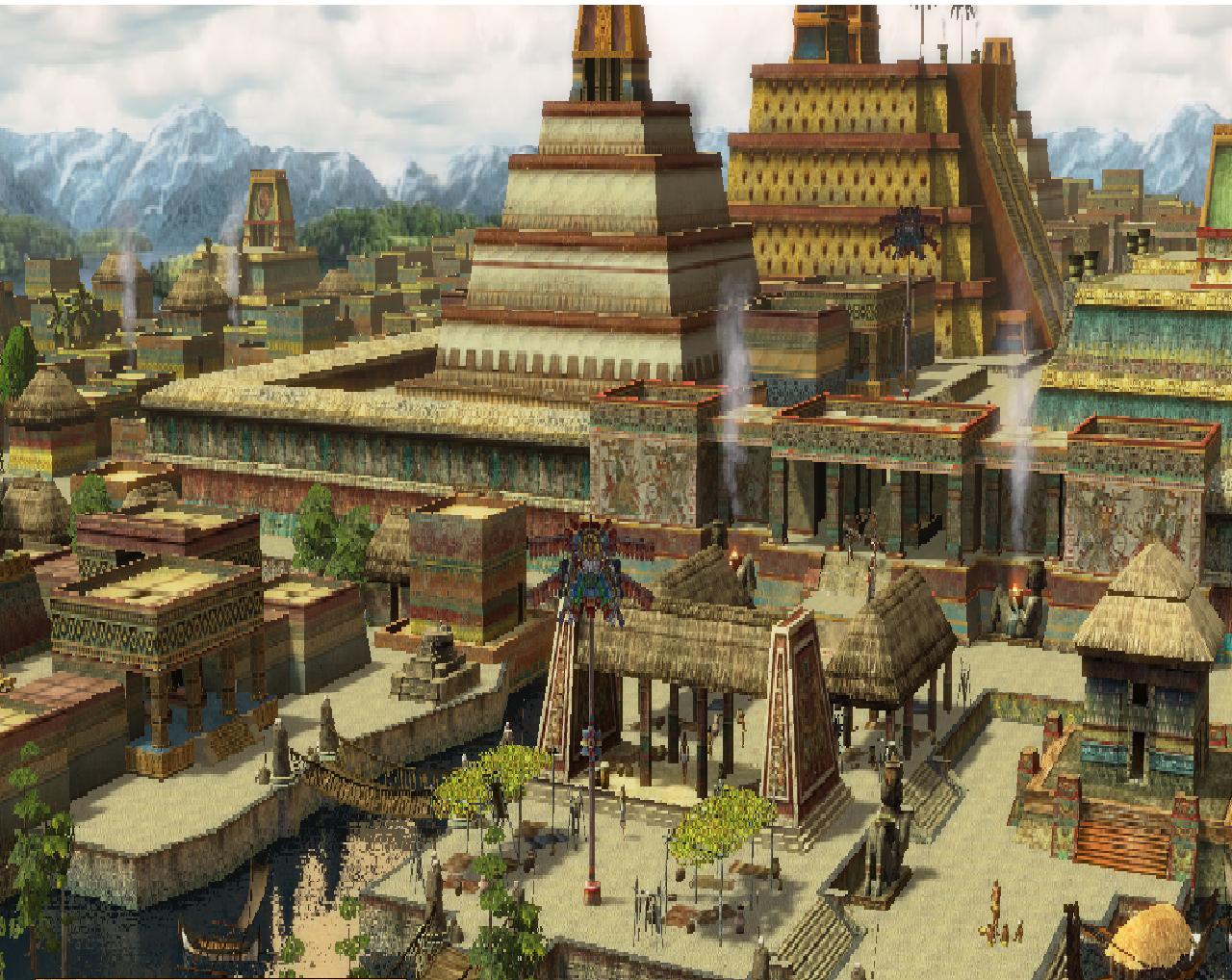 Tenochtitlan dans Age of Empires III: The WarChiefs