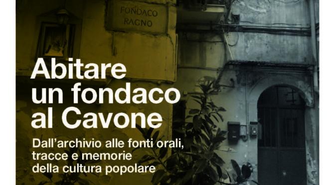 [Conferenza] Abitare un fondaco al Cavone. Brigitte Marin e Marcello Anselmo
