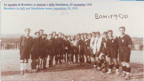 Jeunesse sportive bonifacienne (JSB), 1931