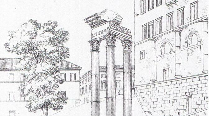 [COLLOQUE] Reconstruire / Restaurer Rome. 30-31 octobre 2019, EFR et Sapienza Università di Roma