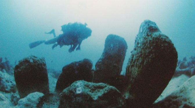 L'archéologie sous-marine en Israël