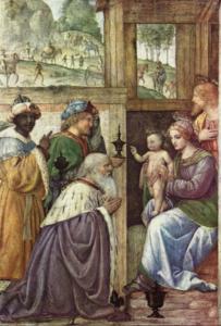 Bernardino Luini, L'adoration des Mages