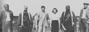 Ruth Amiran in the Jezreel Valley circa 1939