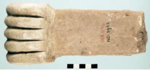 IA5.076 : Main du palais d'Assurnasirpal à Nimrud (d'après L. R. Siddall 2016, fig.7)