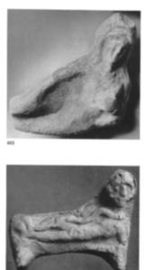 Un type de figurines séleuco-parthes (d'après Ziegler 1962: pl.30).