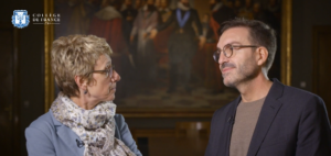 Les Professeurs Vinciane Pirenne-Delforge et Lluis Quintana-Murci,