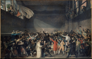 David, Le Serment du Jeu de Paume (ca 1790)
