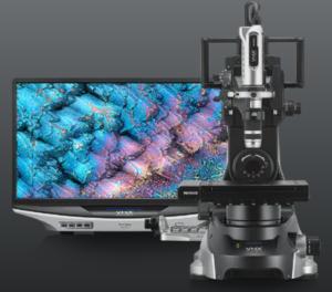 Microscope métallographique numérique Keyence VHX-7000, relié à l'ordinateur