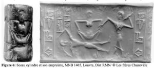 Sceau avec scène de délivrance ( (Battini 2006, fig.6)