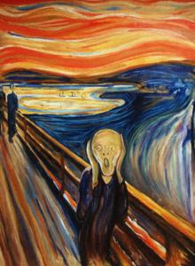 E. Munch, Le cri, 1893.