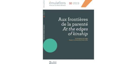 Couverture du n° thématique de la revue Emulations sur les frontières de la parenté
