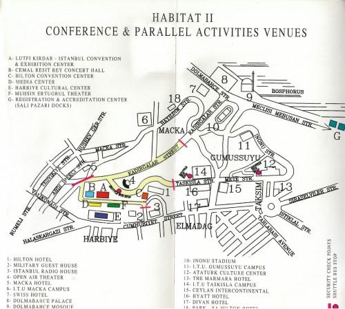 Carte Vallée de la Conférence