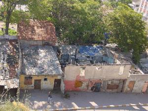 Habitats abandonnés à Sulukule