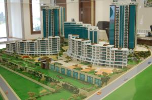 La maquette de Divan Residence