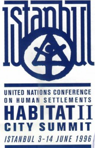 Logo de la conférence Habitat II