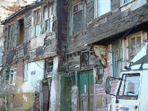 Sulukule, face à la Porte de Pempton (Edirnekapı)
