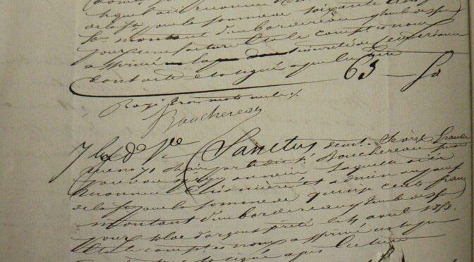 Prochain Séminaire : 7 avril Viera Rebolledo-Dhuin. Le crédit dans la librairie au XIXe siècle