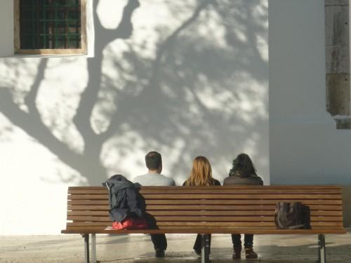 """Intervenção na rua """"O Rumor do lugar"""", com Bruno Humberto, Módulo IV Site Specific Art, Curso de Arte-Mediação: Promoção da Interculturalidade"""