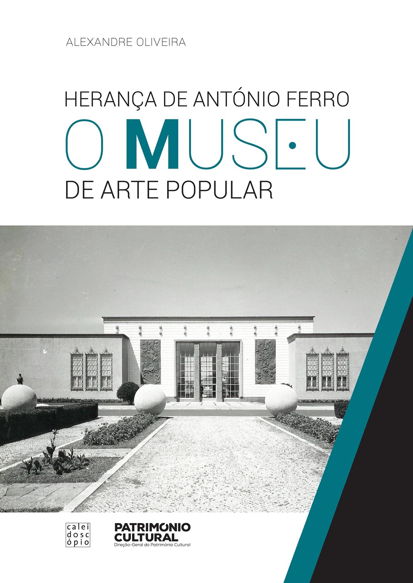Capa do livro onde se mostra uma imagem a preto e branco do Museu de Arte Popular