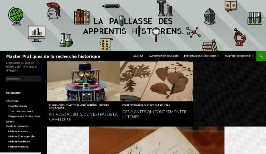 le blog des étudiant·e·s en Master Histoire