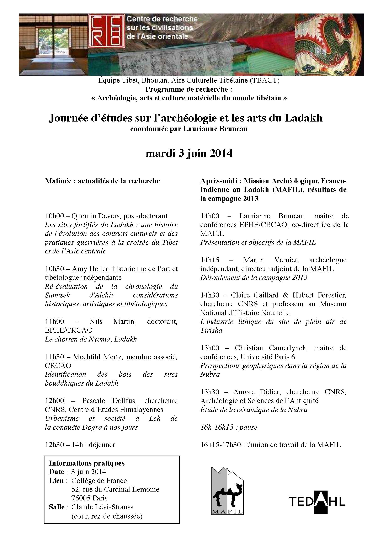 Journée Ladakh 3 juin 2014