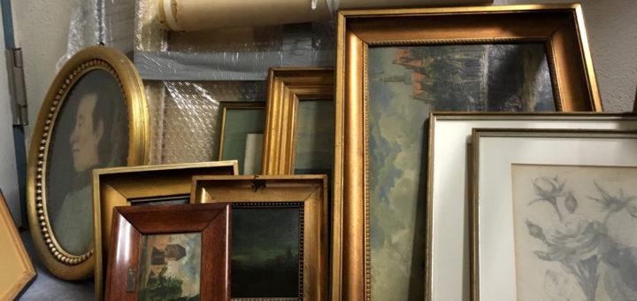 Gemälde aus dem Firmennachlass Wilhelm Klein