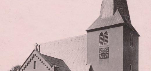 Petruskirche in Bessungen vor dem Umbau durch Friedrich Pützer, 1905, StadtA DA Best. 53 Nr. 11267 (NegNr. 477/5)