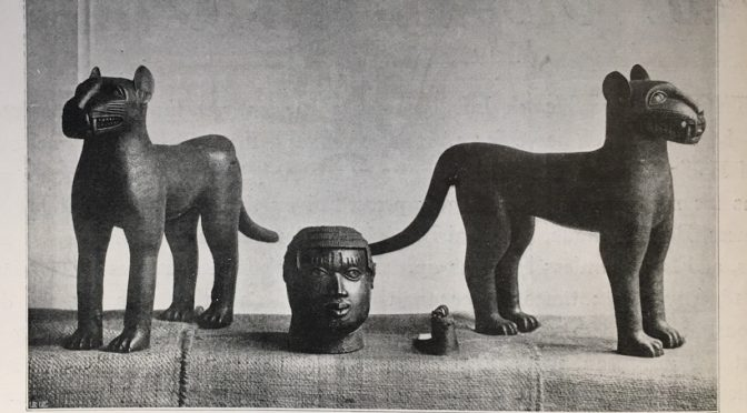 1897: Benin War Trophies in the British Illustrated Press