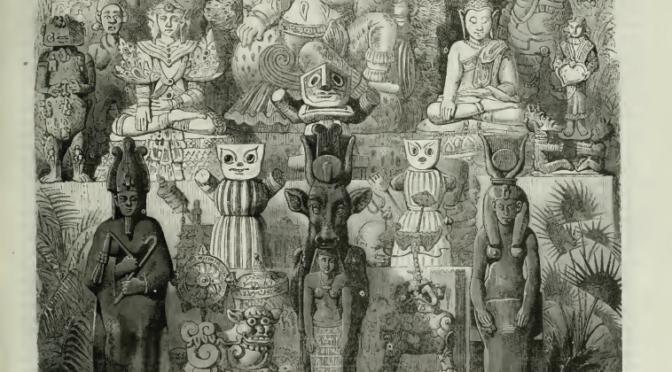1867: Aztec idols at the Paris World Fair