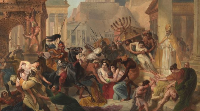 1835: Geiserich plündert Rom