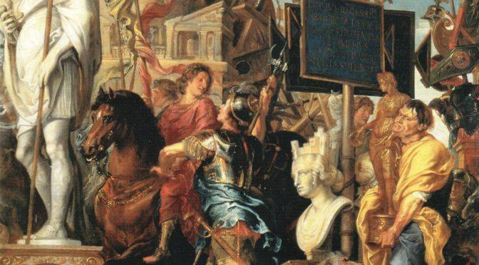 1608: Rubens, Triumph Caesars (nach Andrea Mantegna)