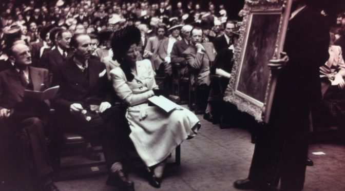 1944: Kunstauktion im besetzten Frankreich