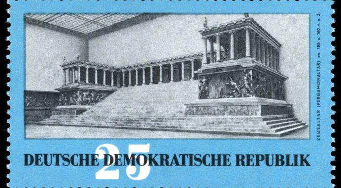1959: Der Pergamonaltar wieder daheim. Die Briefmarke als Medium der DDR-Propaganda