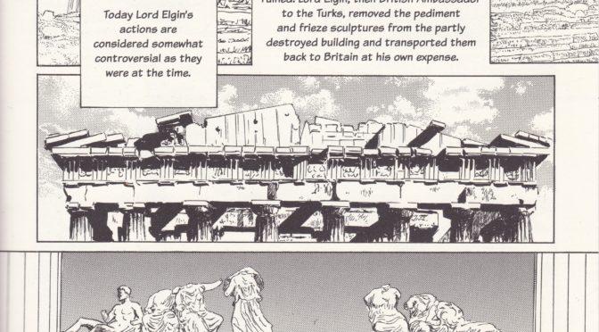 2011: Ein Manga über die Elgin Marbles im British Museum