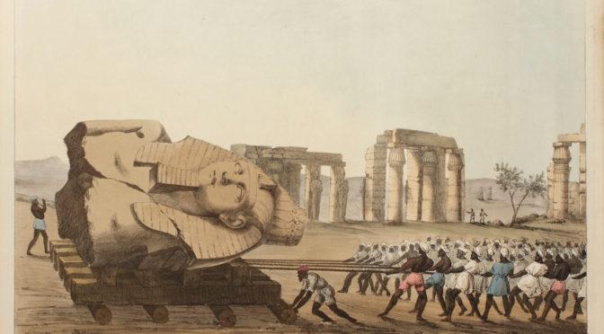 1816: 80 Männer und ein Stein. Memnons Reise nach London
