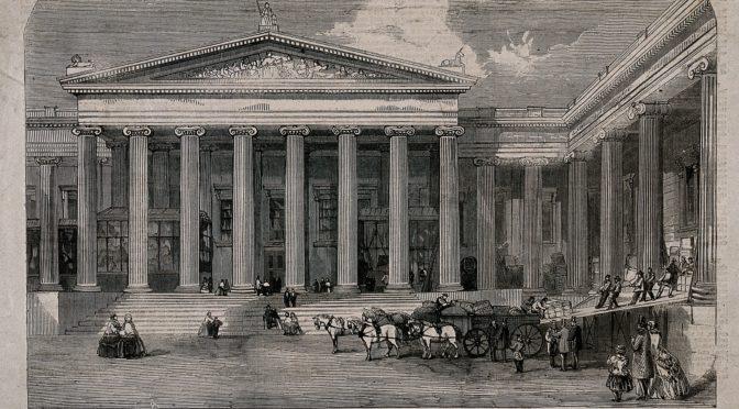 1849: Die Expansion des British Museum. Ein neuer Tempel für antike Trophäen