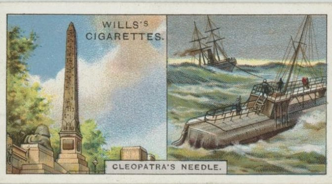 "1933: ""Do you know the story of Cleopatra's needle?"" – Eine Zigarettenkarte als britisches Erinnerungsmedium"