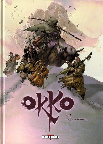 Couverture du tome 3 de la bd Okko de Hub