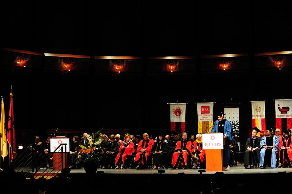 A Graduation Ceremony at Rutgers University, 2010, Rutgers University, New Brunswick, NJ, USA, May 17, 2010 | © Courtesy of llee_wu/Flickr.