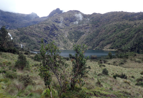 Piunde lake (3800 masl) on Mt Wilhelm (Simbu province)