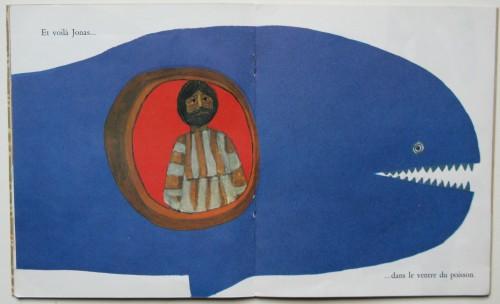 Jonas, texte de A.M.Cocagnac, images de Jacques Le Scanff, Editions du Cerf, Librairie Plon, 1963, Les Albums de l'arc-en-ciel, n°5.