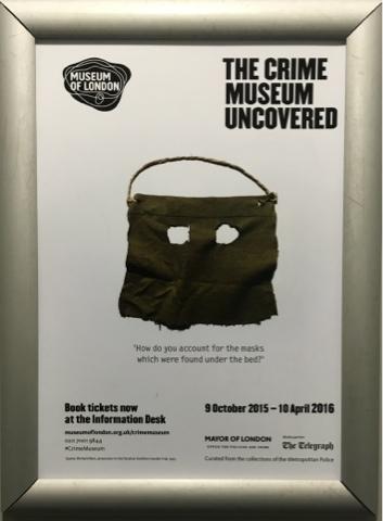 EL MUSEO DEL CRIMEN DE SCOTLAND YARD