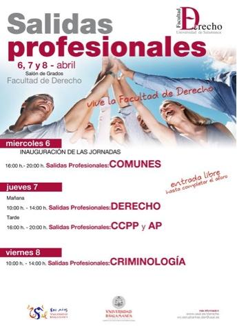 JORNADA SOBRE SALIDAS PROFESIONALES EN CRIMINOLOGÍA