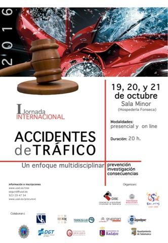 I JORNADA INTERNACIONAL SOBRE ACCIDENTES DE TRÁFICO