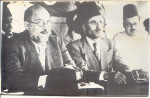 Thaâlbi, Bourguiba et Sfar en 1937