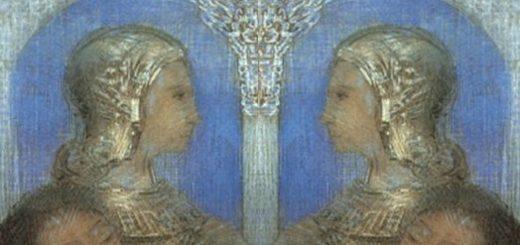 Odilon Redon [Double] Chevalier mystique