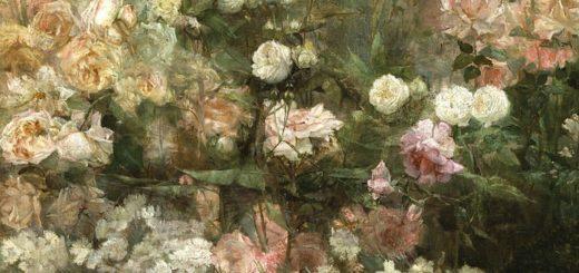 Jardin de roses / Maria Oakey Dewing