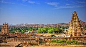Temple, Hampi, Karnataka