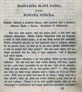 Mahuliena, édition 1858