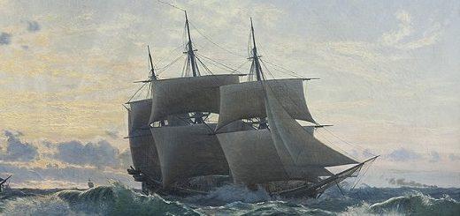 Navire après la tempête